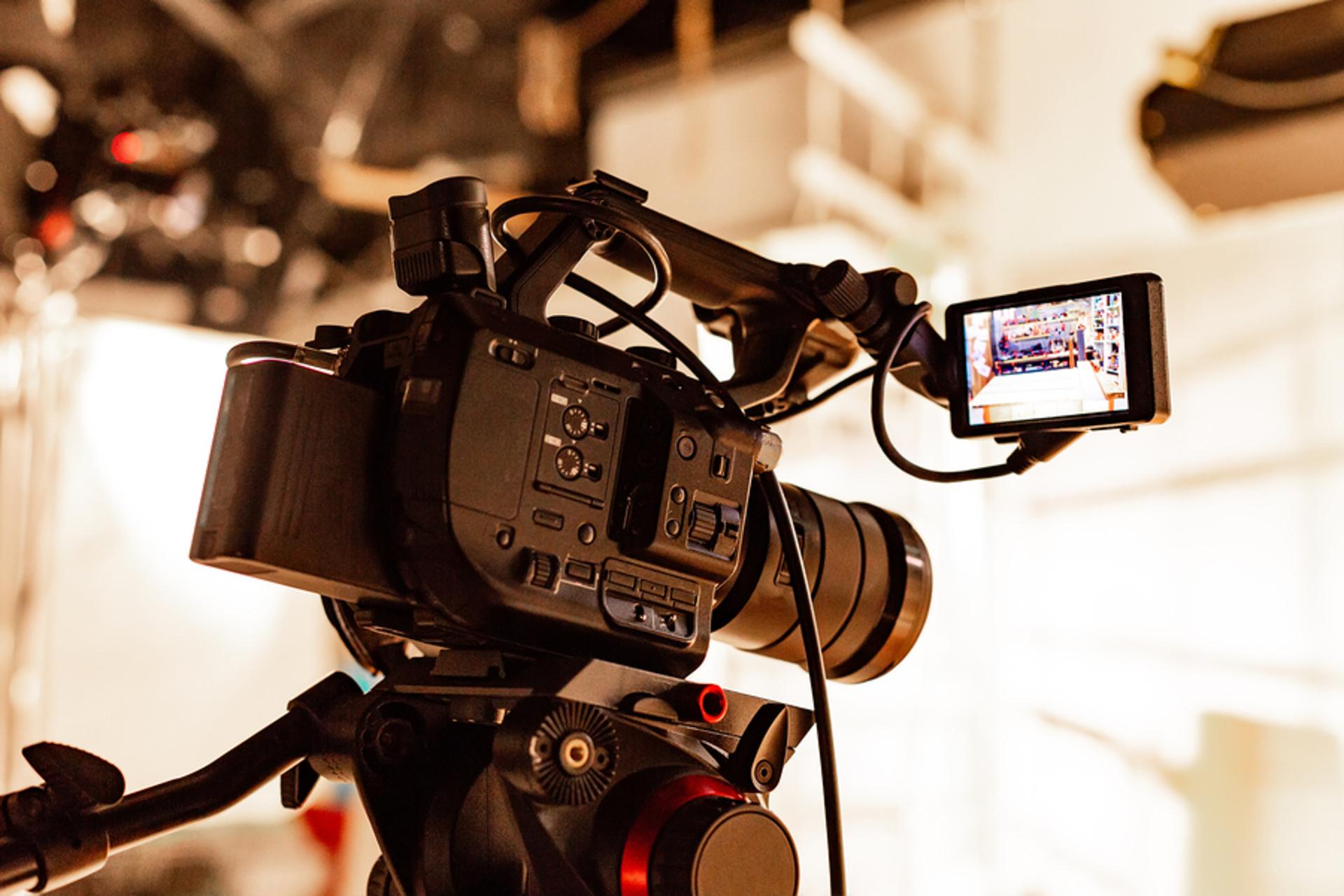 bigstock Behind The Scenes Of Video Pro video marketing