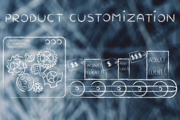Product customization.