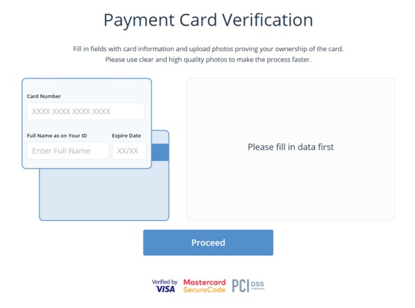 Payment Card Verification.