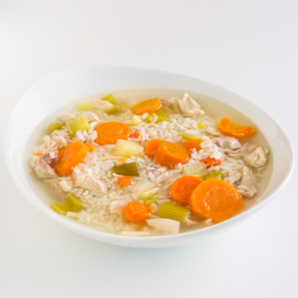 Chicken soup delivery