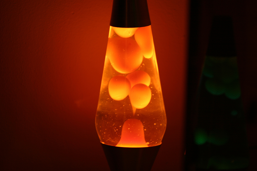 colored mood lighting started with the lava lamp - Colored Light Bulbs