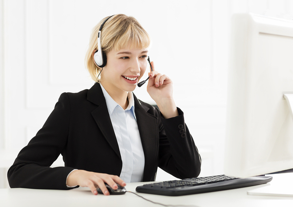 A 3rd party call answering service is always polite and curteous