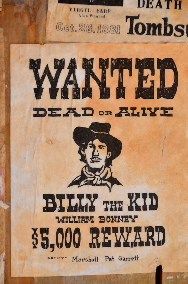 a biography of william h bonney the most famous outlaws in american history William h bonney / billy the kid william harrison bonney more about wichita history at: how can the single most famous outlaw figure of the old west have a.