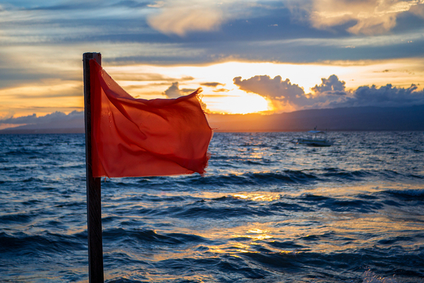 Take risks, just pay attention to the red flags so they can be smart risks.