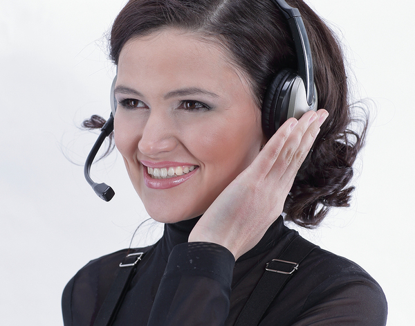 A professional answering service can be helpful when the weather is bad.
