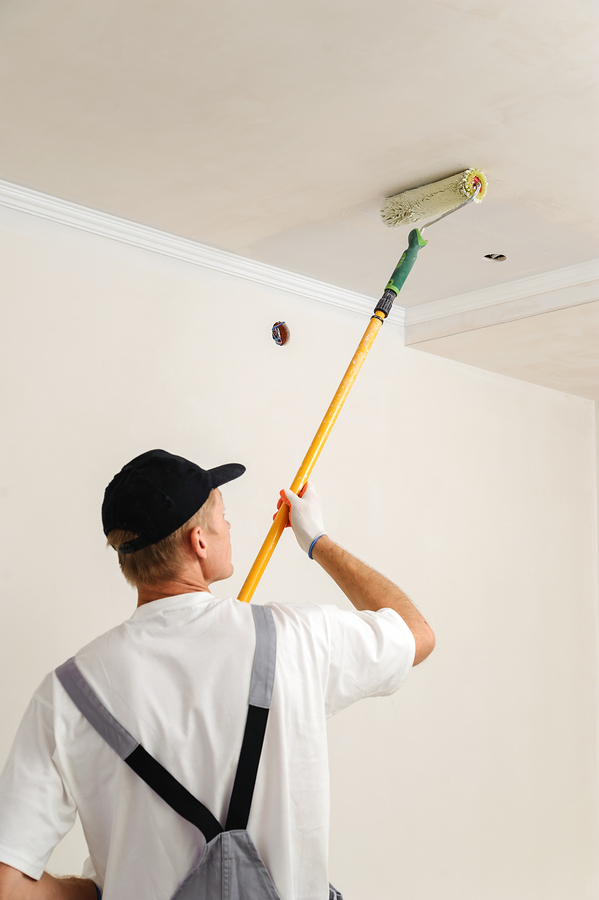 Cleaning Up A Water Stained Ceiling