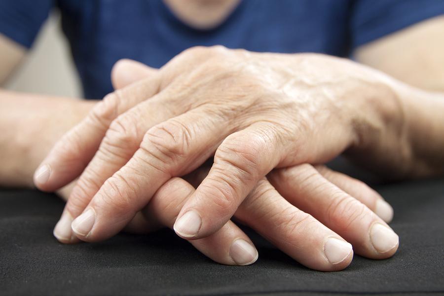 Senior joint pain