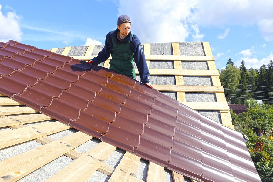 Tin Roof Installation : Evaluating roof costs are metal roofs a cost effective