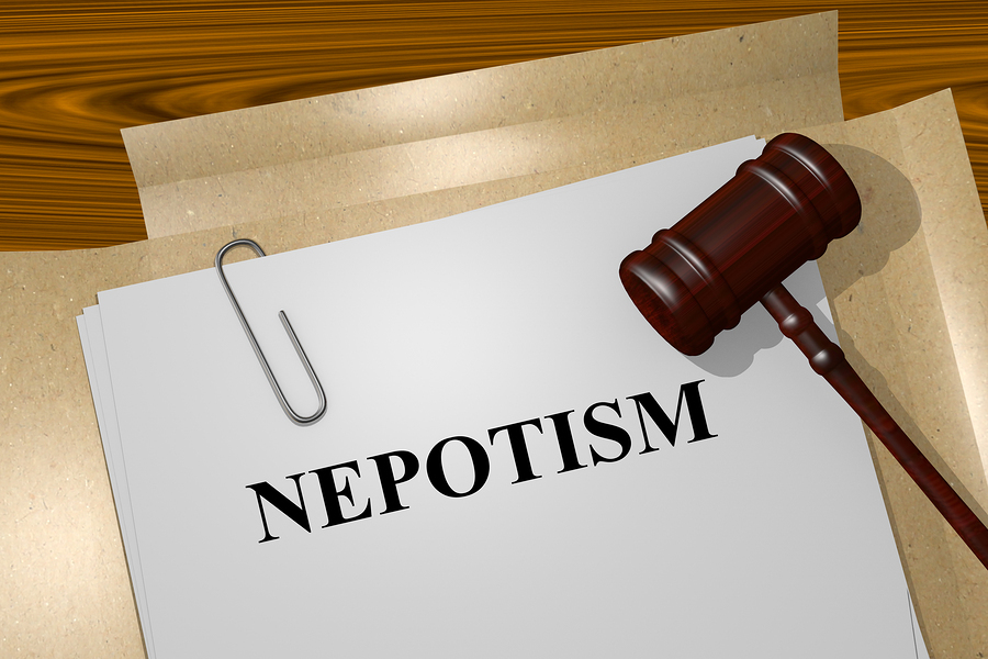 Nepotism leads to stunted dev't. If the leader surrounds himself with friends, relatives, tribesmen & avoids professional, country will not progress.