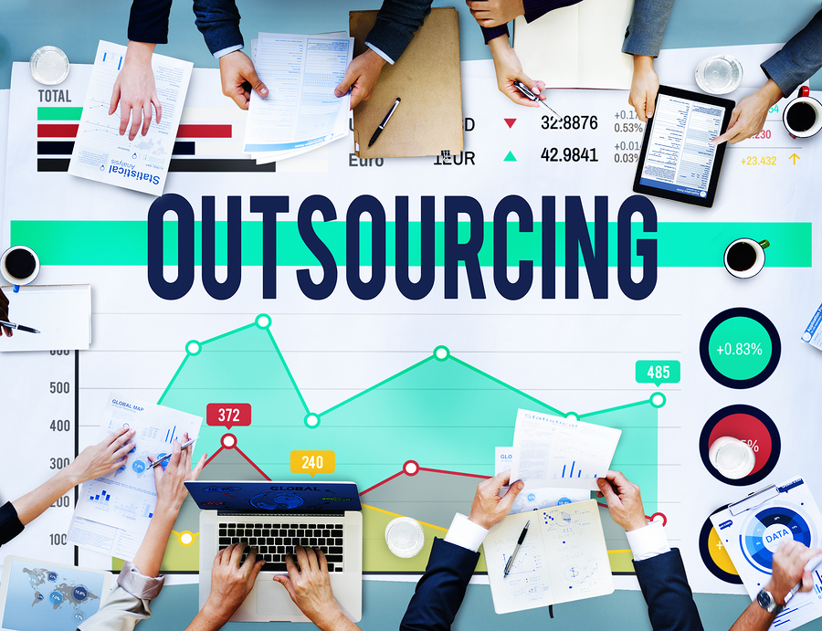 Outsourcing department functions