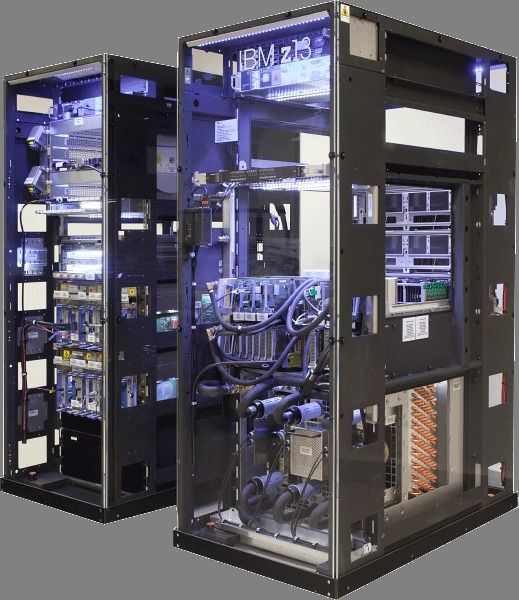 IBM z Series mainframe photo
