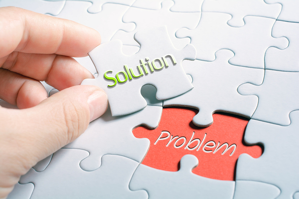 Solution to a problem puzzle.