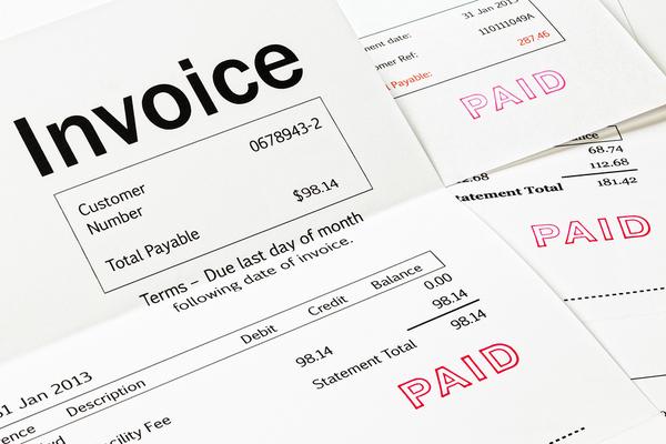 Invoice.