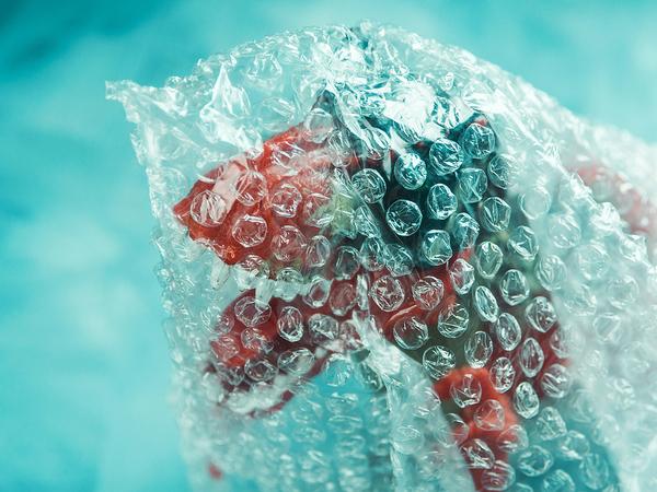 Bubble wrap.
