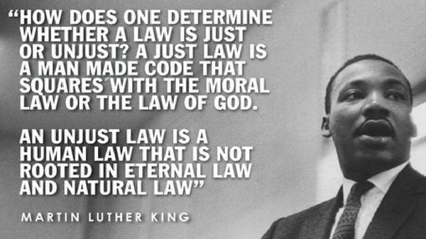 Martin Luther King Jr. quote.