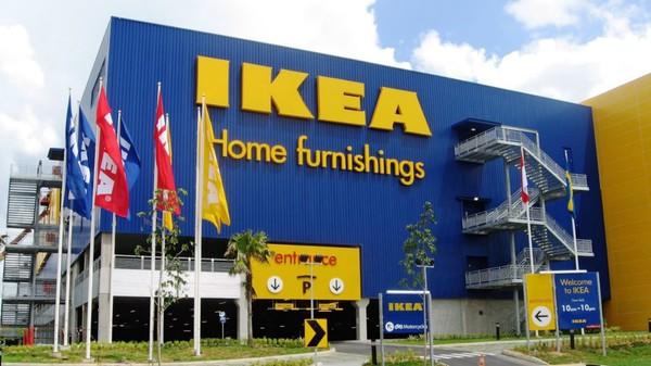 Ikea home furnishings building.