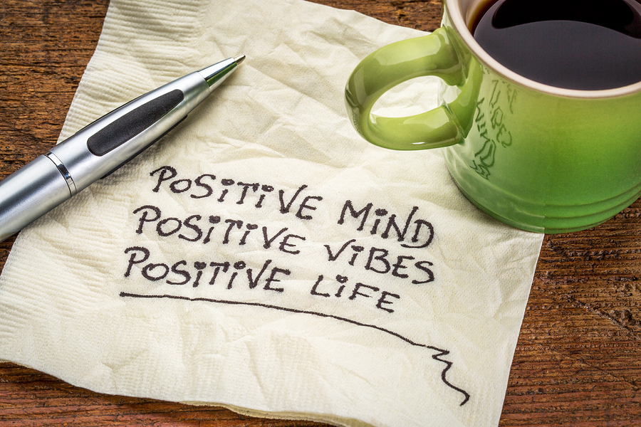 Positive content should be aimed for.