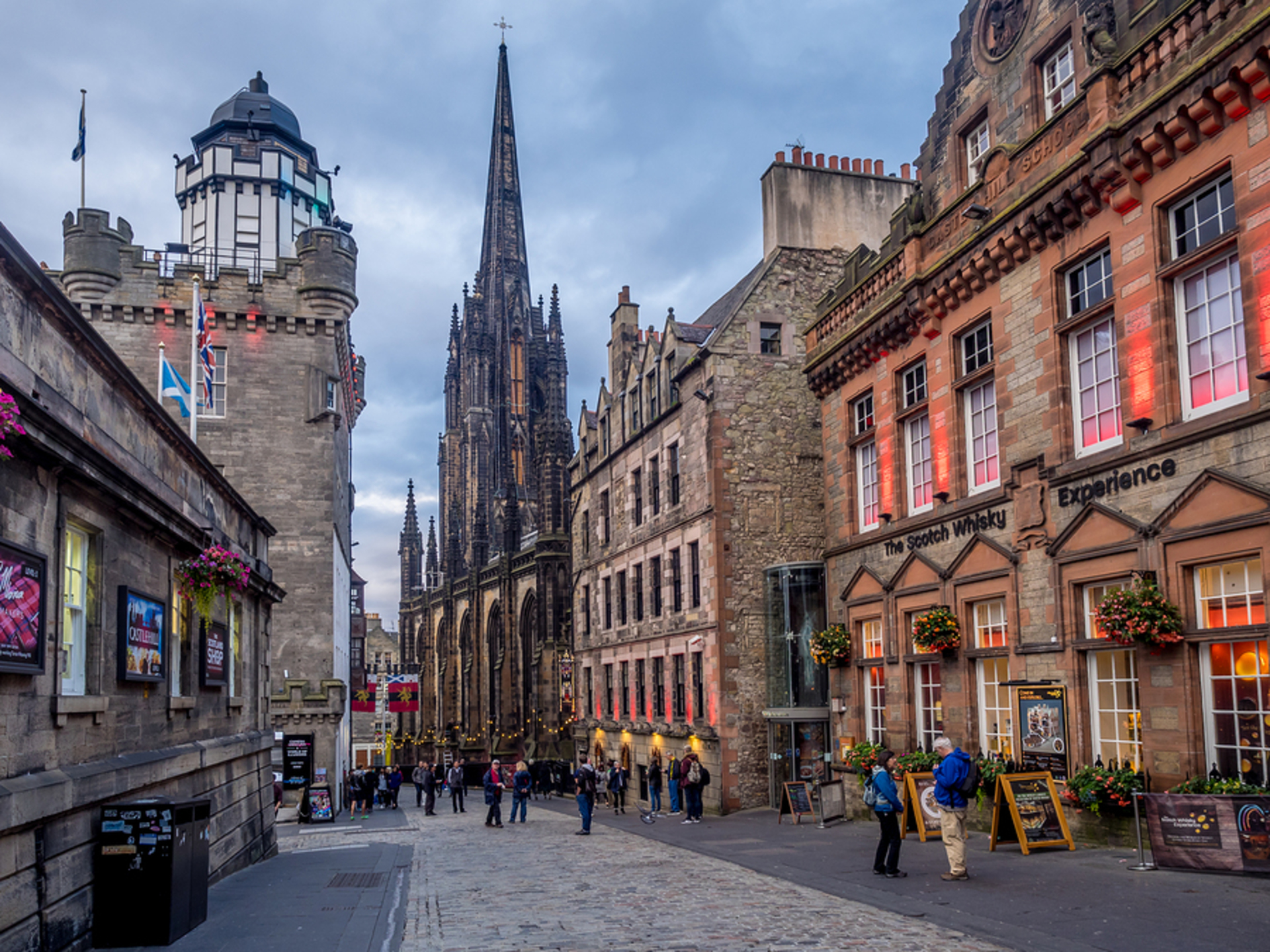 Tips for shooting in Edinburgh