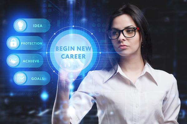 Begin new career.