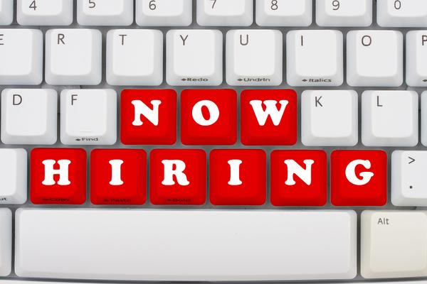 Now hiring.