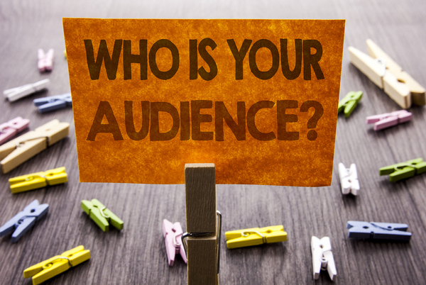 Who is your audience sign.