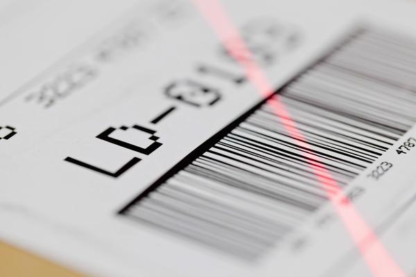 Enterprise barcode labeling software