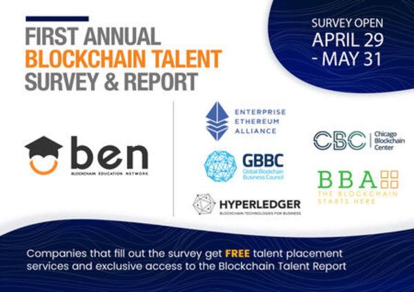 First annual Blockchain Talent Survey & Report