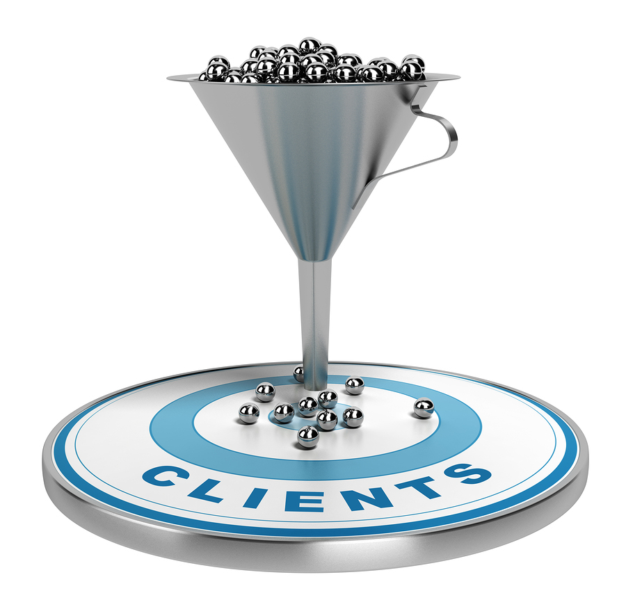 Qualified leads in the lead funnel