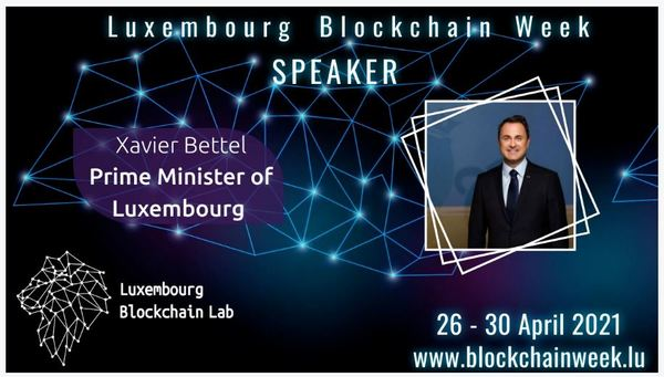 Luxembourg Blockchain Week Announcement.