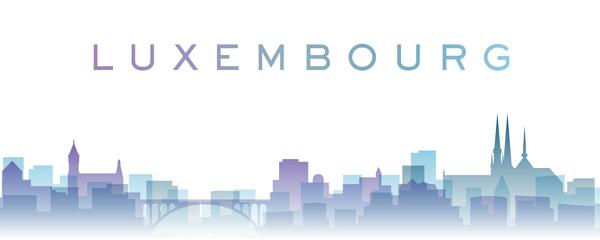 Luxembourg city landscape.