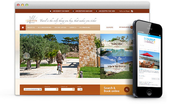 vacation rental website templates