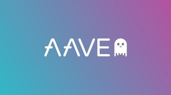 AAVE logo.