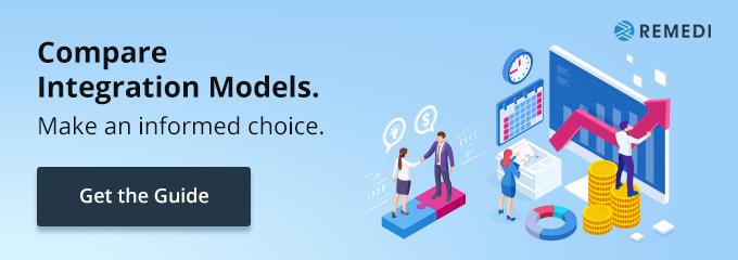 Compare integration models.