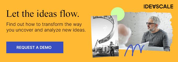 Let the ideas flow.