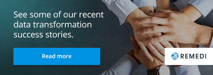 See some of our recent data transformation success stories.