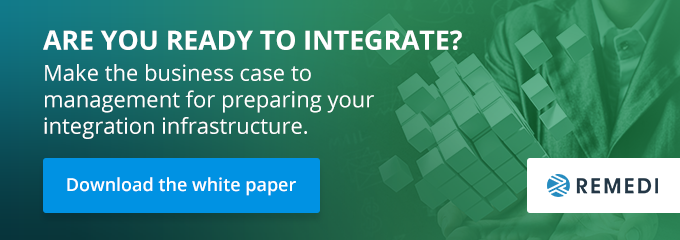 Make the business case to management for preparing you integration infrastructure.